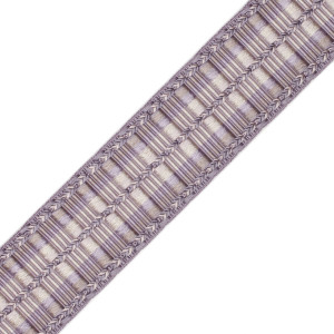 "BORDERS/TAPES - 1 5/8""ORSAY SILK RIBBED BORDER - 9"