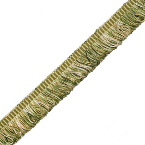 BRUSH FRINGE - ORSAY SILK BOUCLE LOOP FRINGE - 3