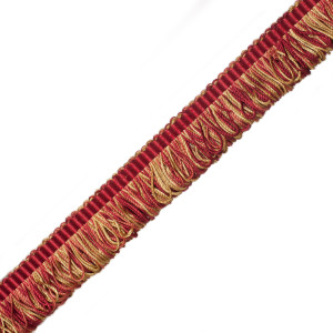 BRUSH FRINGE - ORSAY SILK BOUCLE LOOP FRINGE - 7