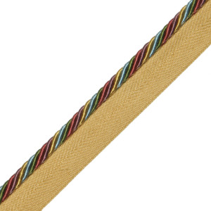 "CORD WITH TAPE - 1/4"" ORSAY SILK CORD W/TAPE - 11"