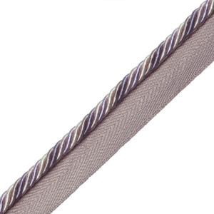 "CORD WITH TAPE - 1/4"" ORSAY SILK CORD W/TAPE - 9"
