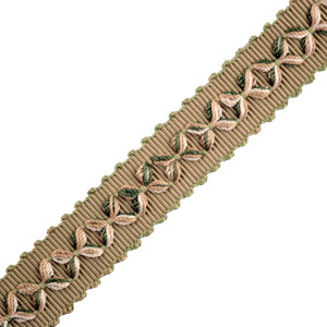 "GIMPS/BRAIDS - 7/8"" ORSAY SILK DIAMOND BRAID - 3"