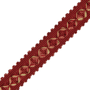 "GIMPS/BRAIDS - 7/8"" ORSAY SILK DIAMOND BRAID - 7"
