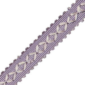 "GIMPS/BRAIDS - 7/8"" ORSAY SILK DIAMOND BRAID - 9"