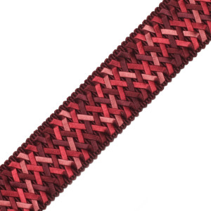 "BORDERS/TAPES - 1.4"" NORMANDY SILK HANDWOVEN BRAID - 11"
