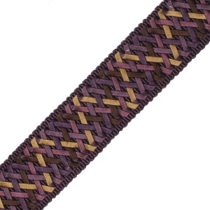 "BORDERS/TAPES - 1.4"" NORMANDY SILK HANDWOVEN BRAID - 13"