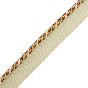 "CORD WITH TAPE - 1/4"" NORMANDY SILK CORD W/TAPE - 19"
