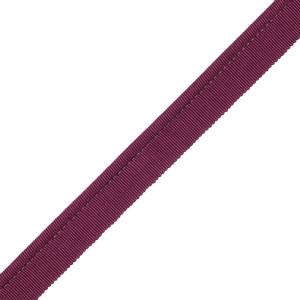 "CORD WITH TAPE - 1/4"" FRENCH GROSGRAIN PIPING - 298"
