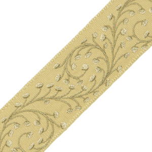 "BORDERS/TAPES - 2"" ELLA EMBROIDERED BORDER - 01"