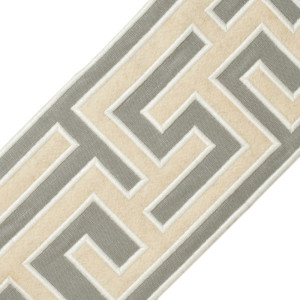 "BORDERS/TAPES - 5"" GREEK FRET EMBROIDERED BORDER - 03"
