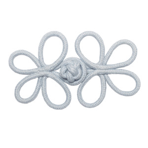 ROSETTES/TUFTS/FROGS - HARBOUR CROWN KNOT FROG - 04