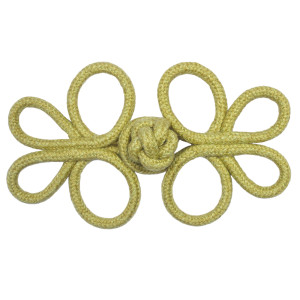 ROSETTES/TUFTS/FROGS - HARBOUR CROWN KNOT FROG - 07