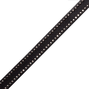 BORDERS/TAPES - TOSCANA MICROSTUD EDGED LEATHER - 601