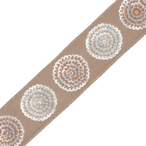 BORDERS/TAPES - ASTRA EMBROIDERED BORDER - 10