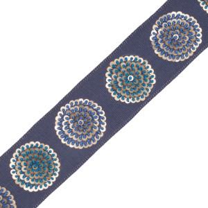 BORDERS/TAPES - ASTRA EMBROIDERED BORDER - 12