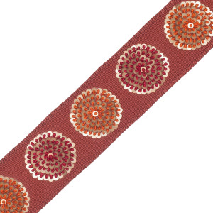 BORDERS/TAPES - ASTRA EMBROIDERED BORDER - 14