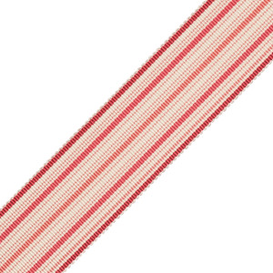 BORDERS/TAPES - PRESTON SILK STRIPED BORDER - 12