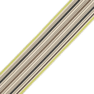 BORDERS/TAPES - PRESTON SILK STRIPED BORDER - 14