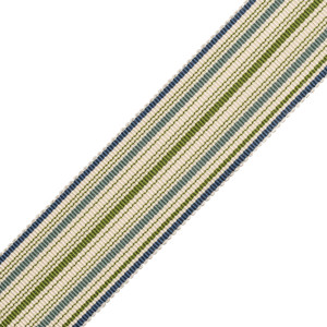 BORDERS/TAPES - PRESTON SILK STRIPED BORDER - 16