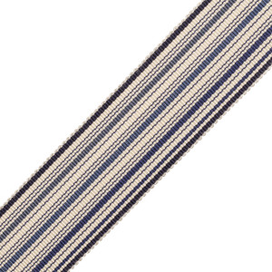BORDERS/TAPES - PRESTON SILK STRIPED BORDER - 18
