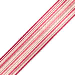 BORDERS/TAPES - PRESTON SILK STRIPED BORDER - 22