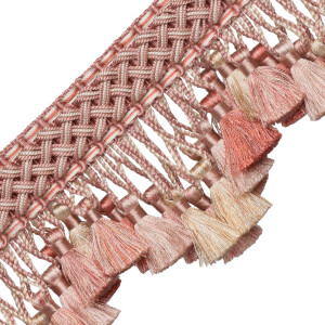 TASSEL/BALL FRINGE - CHEVALLERIE SCALLOPED TASSEL FRINGE - 01