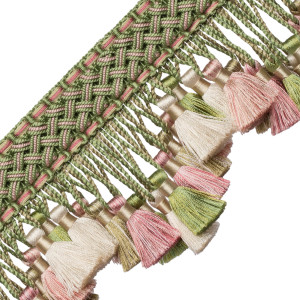 TASSEL/BALL FRINGE - CHEVALLERIE SCALLOPED TASSEL FRINGE - 05