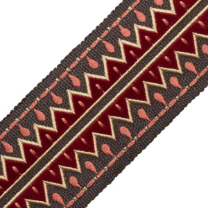 BORDERS/TAPES - UXMAL APPLIQUÉ BORDER - 07