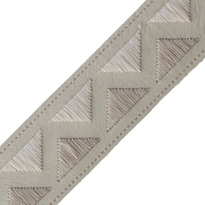 BORDERS/TAPES - PYRAMID EMBROIDERED BORDER - 01