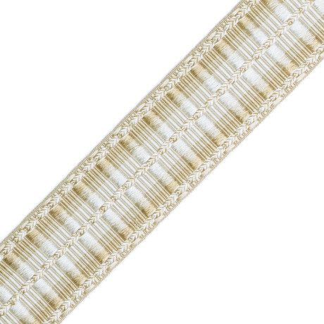 "BRUSH FRINGE - 1 5/8""ORSAY SILK RIBBED BORDER - 12"