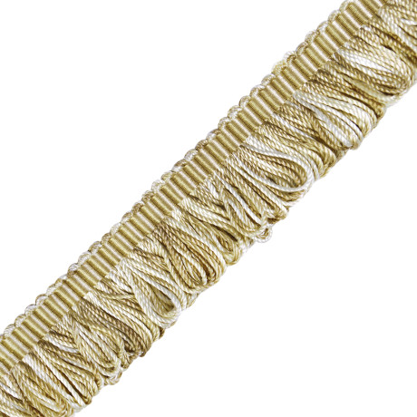 CORD WITH TAPE - ORSAY SILK BOUCLE LOOP FRINGE - 1