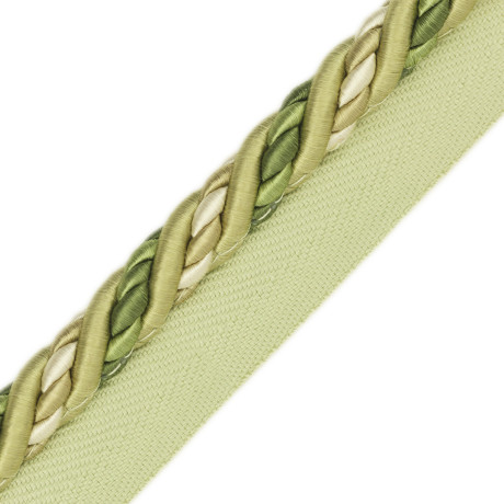 "BORDERS/TAPES - 1/2"" ORSAY SILK CORD W/TAPE - 3"