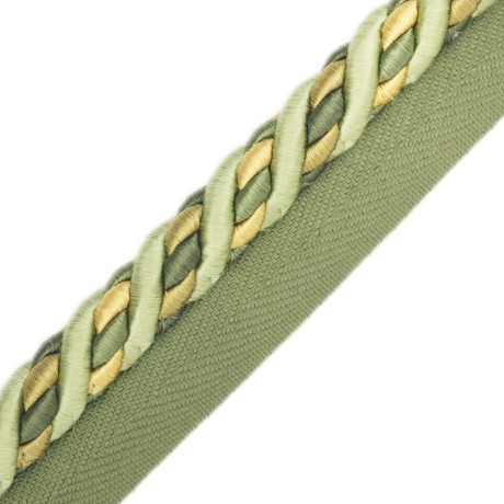 "BORDERS/TAPES - 1/2"" ORSAY SILK CORD W/TAPE - 325"