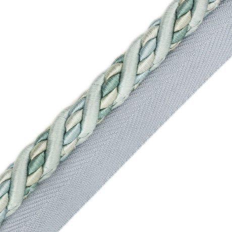 "BORDERS/TAPES - 1/2"" ORSAY SILK CORD W/TAPE - 4"