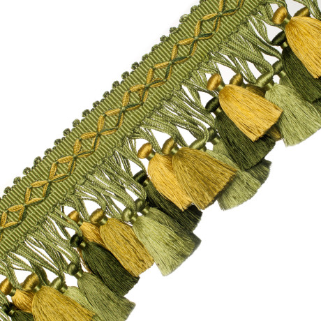 BORDERS/TAPES - ORSAY SILK TASSEL FRINGE - 325