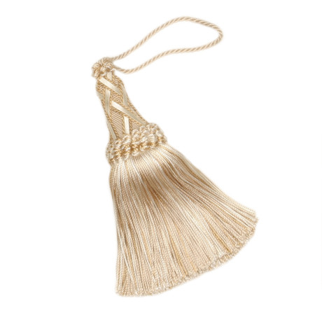 "BRUSH FRINGE - 5 1/2"" ORSAY SILK KEY TASSEL - 12"