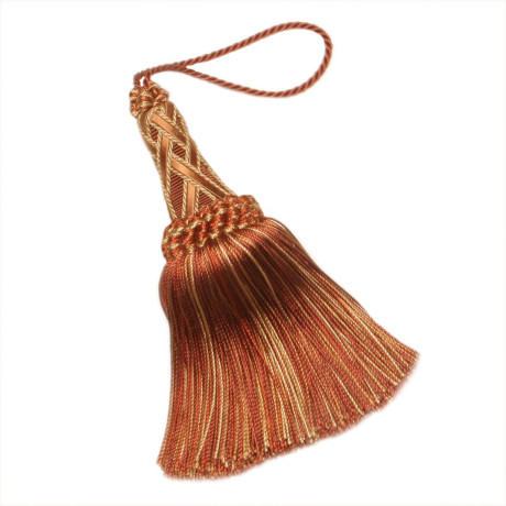 "GIMPS/BRAIDS - 5 1/2"" ORSAY SILK KEY TASSEL - 13"