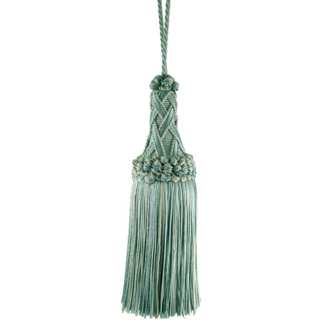 "CORD WITH TAPE - 5 1/2"" ORSAY SILK KEY TASSEL - 4"