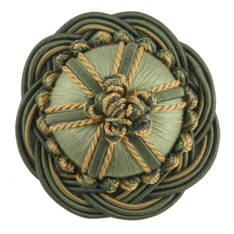 "BORDERS/TAPES - 2"" ORSAY SILK ROSETTE - 325"
