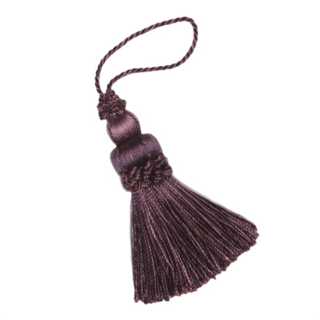 "CHAIR TASSELS - 3"" LE JARDIN SILK KEY TASSEL - 80"
