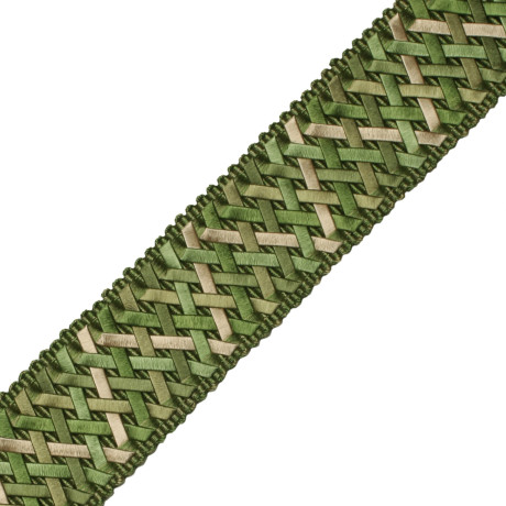 "CORD NO TAPE - 1.4"" NORMANDY SILK HANDWOVEN BRAID - 16"
