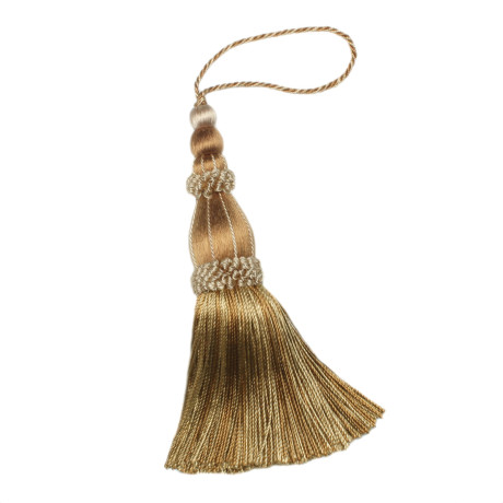 "BORDERS/TAPES - 5.5"" NORMANDY KEY TASSEL - 07"