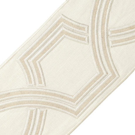 "BORDERS/TAPES - 5"" OGEE EMBROIDERED BORDER - 21"