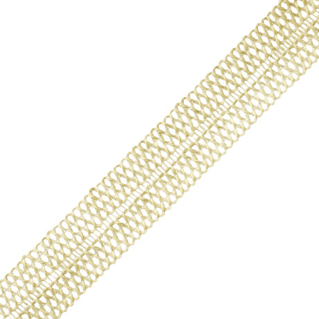 ROSETTES/TUFTS/FROGS - SAVANNAH JUTE OPENWEAVE BRAID - 090