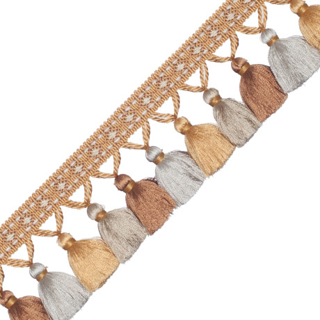 CORD WITH TAPE - PALAIS SILK TASSEL FRINGE - 03
