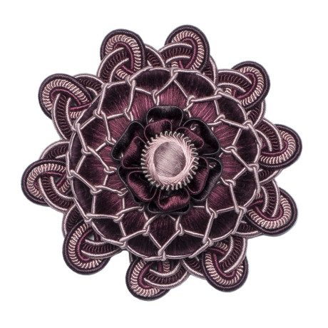 BORDERS/TAPES - PALAIS SILK ROSETTE - 08