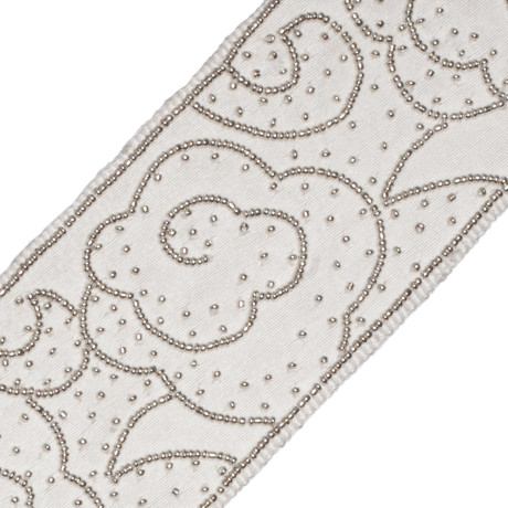 BORDERS/TAPES - MANDARIN CLOUD BEADED BORDER - 19
