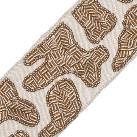 BORDERS/TAPES - ASLAN BEADED BORDER - 20