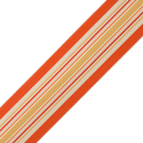 CORD WITH TAPE - SAISONS STRIPE BORDER - 02