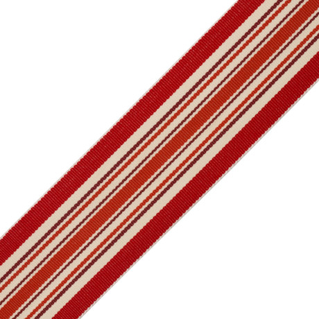 KEY TASSEL - SAISONS STRIPE BORDER - 03
